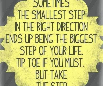 sometimes-the-smallest-step